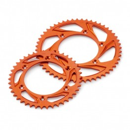 GENUINE KTM REAR SPROCKET ORANGE 590100510XX04